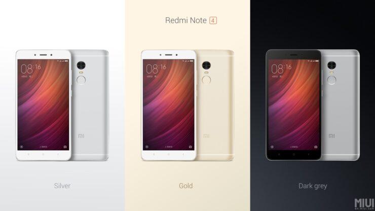Xiaomi Redmi Note 4 officially announced