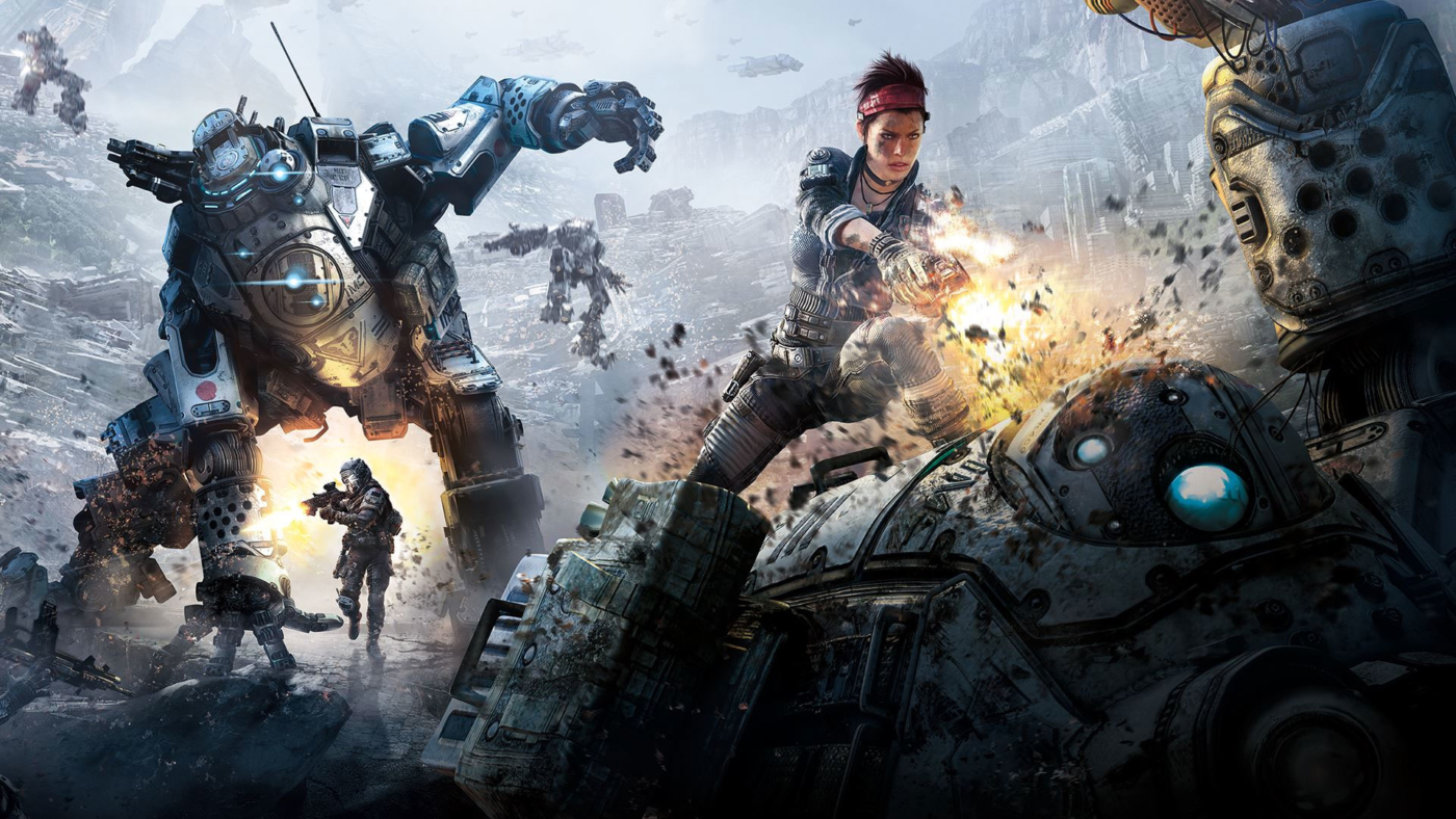 Image result for ps4 titanfall 2 multiplayer