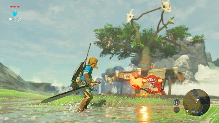 Zelda breath of the wild weapons