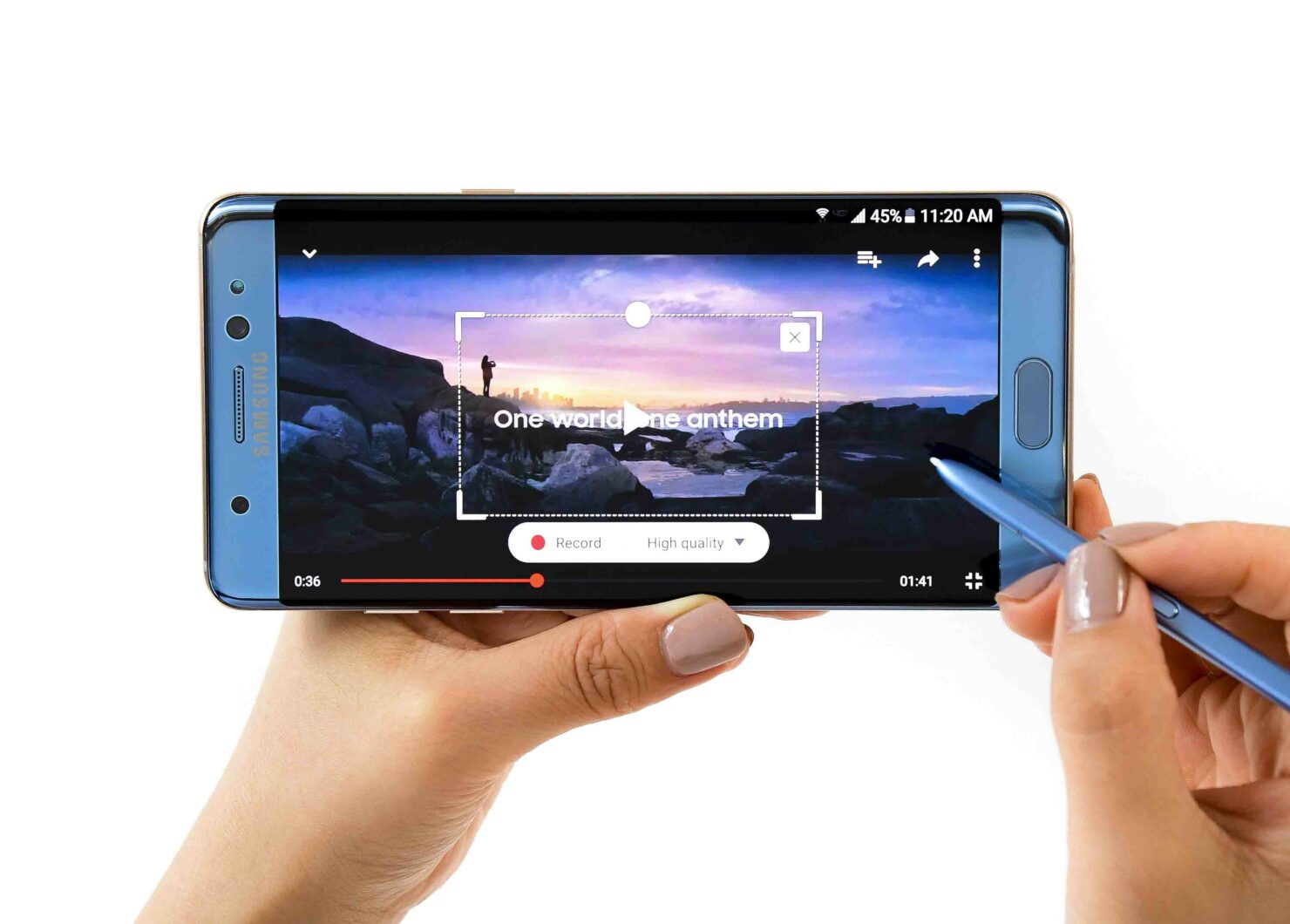Galaxy Note 7 introductory videos