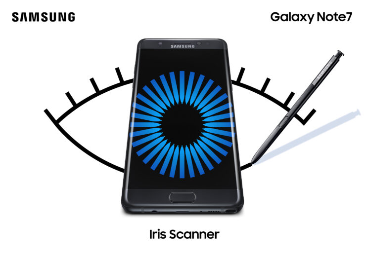 Iris scanners safest security in phones