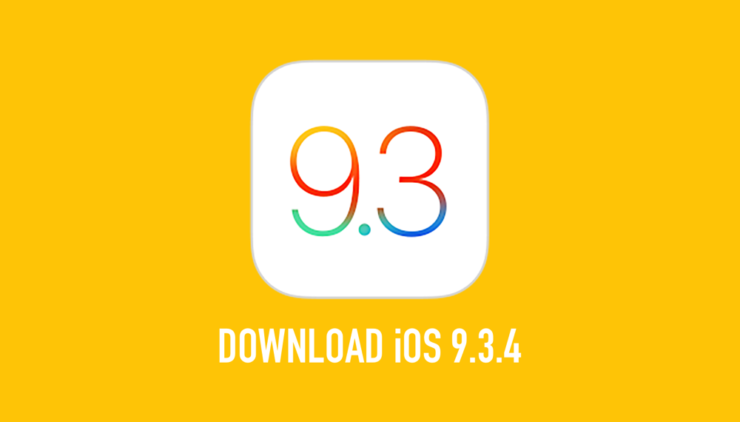 iOS 9.3.4 download