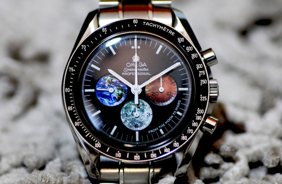 Buzz Aldrin Has Begun Designing A Mars Watch In Collaboration With Omega