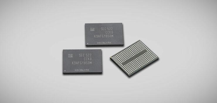 Samsung UFS storage better performance