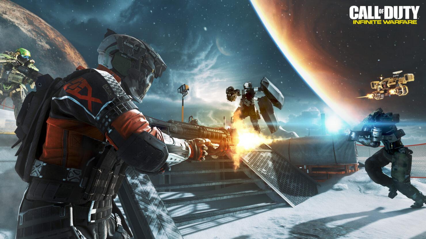 CoD Infinite Warfare PC beta skips ps4 xbox one