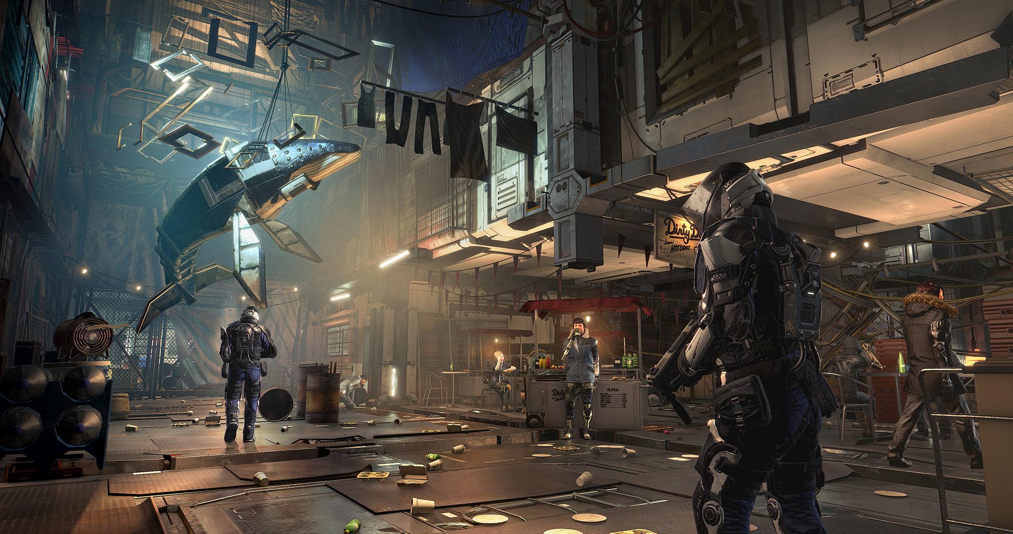 Deus Ex Mankind Divided Ps4 Pro Vs Pc 4k Screenshot Comparison
