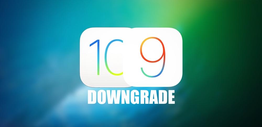 Downgrade iOS 10 final