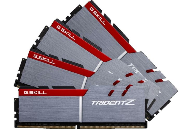 G.Skill DDR4 RAM kit high frequencies