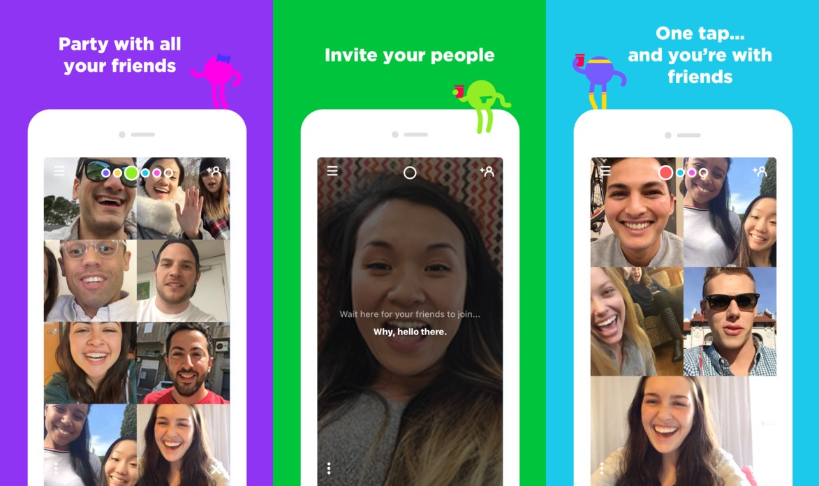 Bildresultat för houseparty app