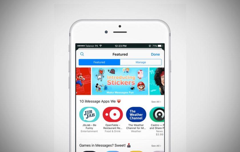 Messages App Store