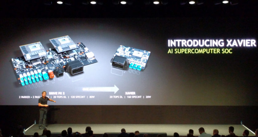 NVIDIA's Xavier SOC packs 7 billion transistor and consumes just 20W of power. (Image Credits: Anandtech)