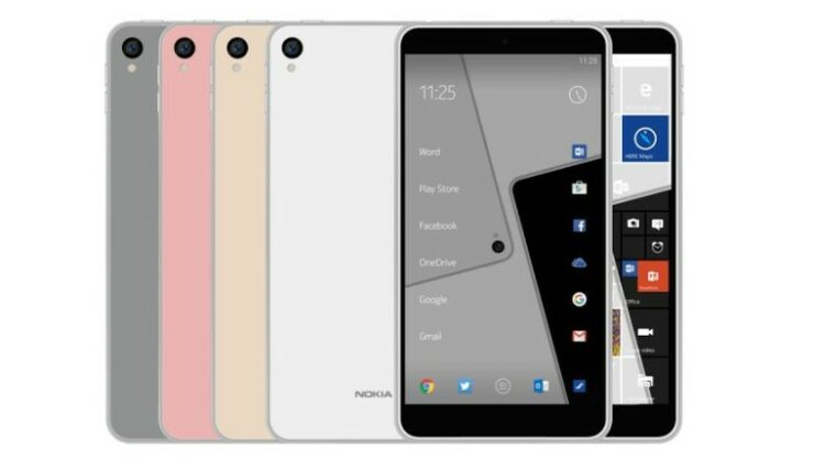 Upcoming Nokia Android Smartphone Might Resemble the Nokia C1 Renders Shown Here