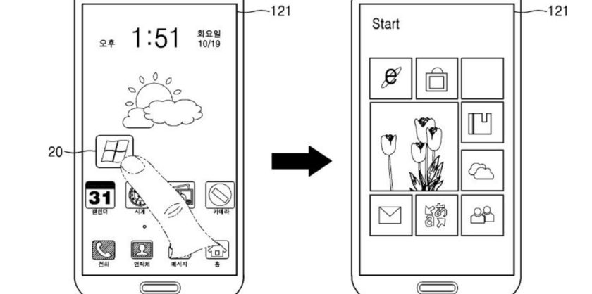 Samsung patents Android Windows Dual Boot Phone
