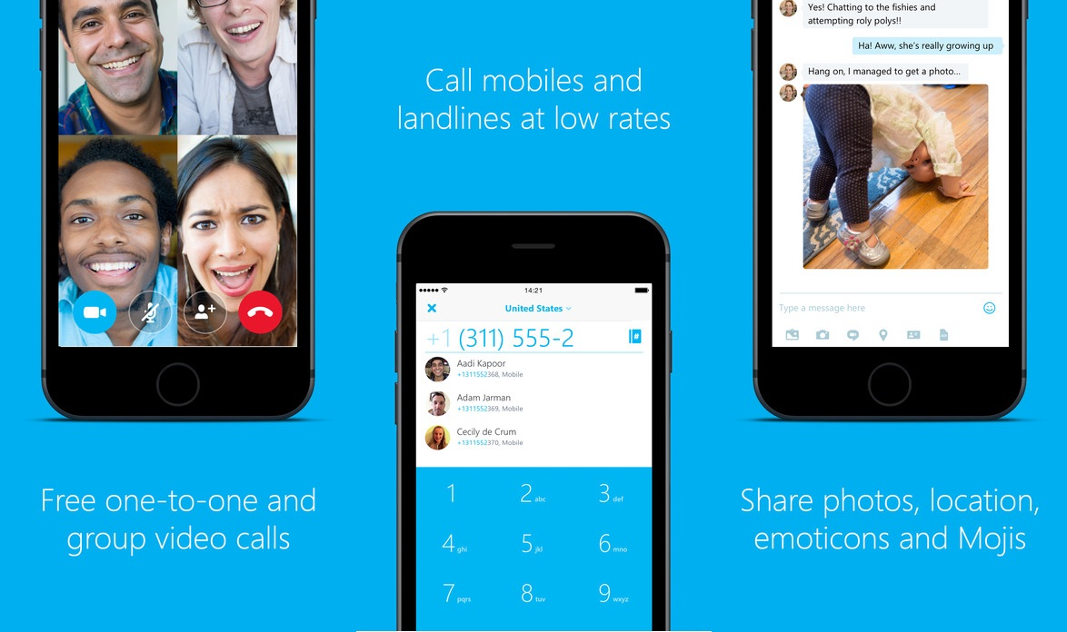Skype For iOS Updated With Siri Support And Completes Call ...