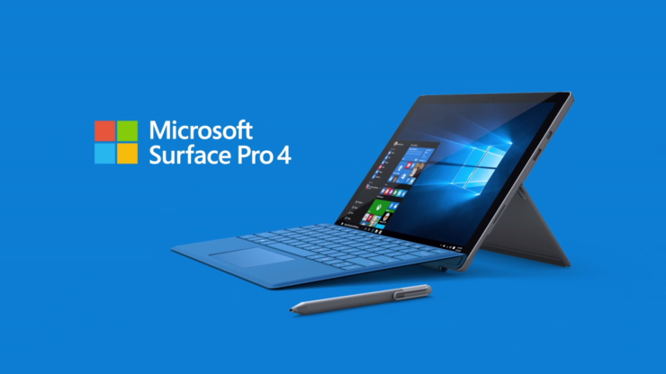 Microsoft Surface Pro 4 $150 discount