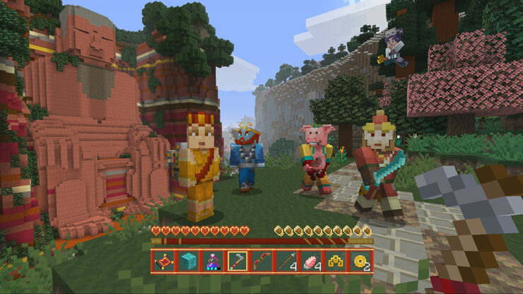 Minecraft Chinese Mythology DLC Pack announced consoles