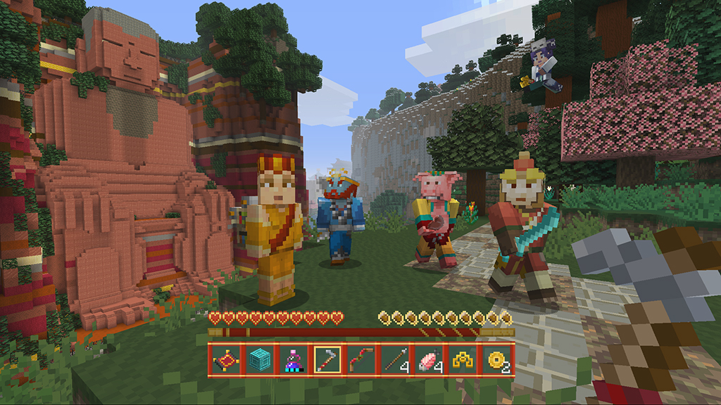 MineCraft Chinese Mythology DLC Announced For Consoles Free Console - Skins para minecraft wii u edition