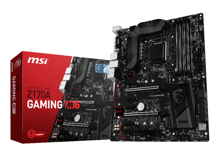MSI Z170A GAMING M6 motherboard launch