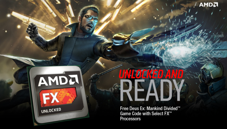 Deus Ex Mankind Divided Free AMD CPU