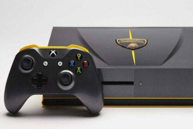 Custom Xbox One S Lamborghini Centenario