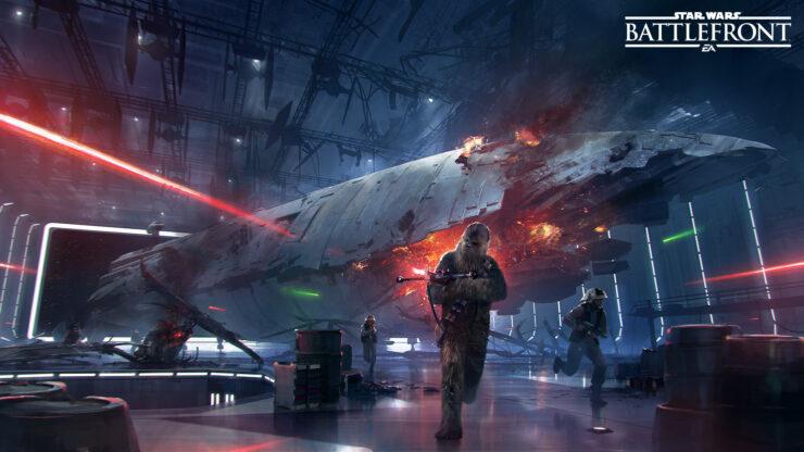 SW battlefront DLC 4 Death Star DLC
