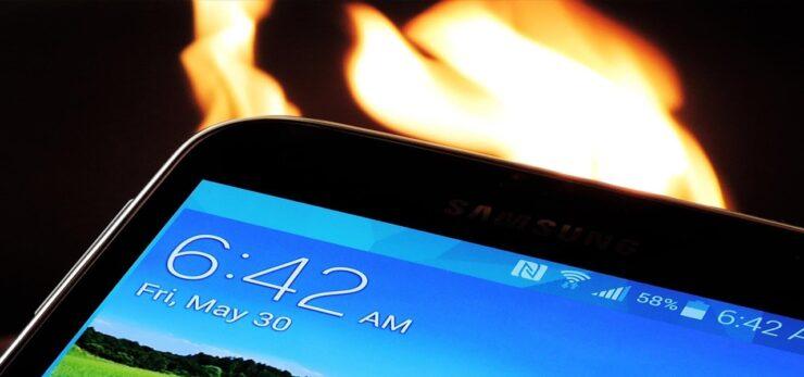 fix Galaxy S7 overheating and battrey drain