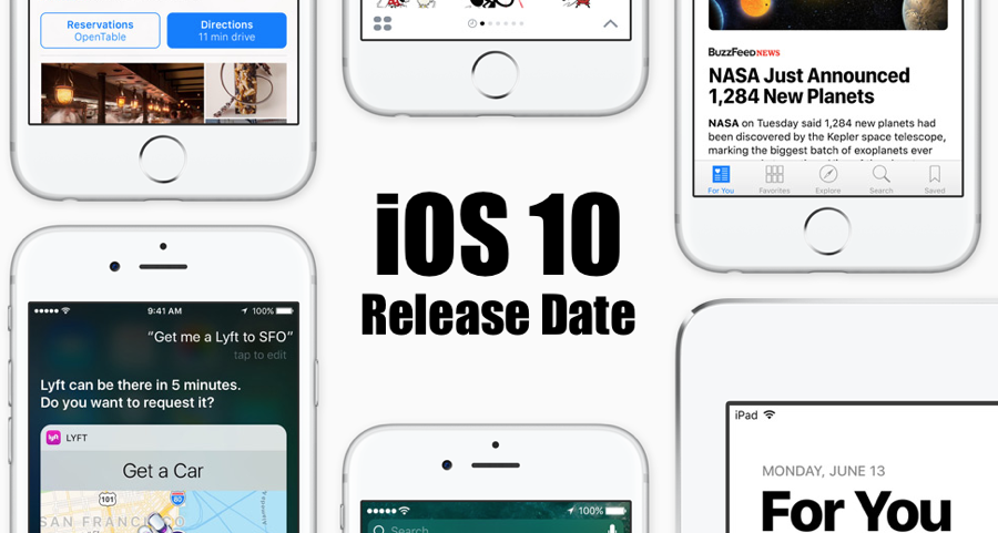 iOS 10 Release Date Has Been Officially Announced