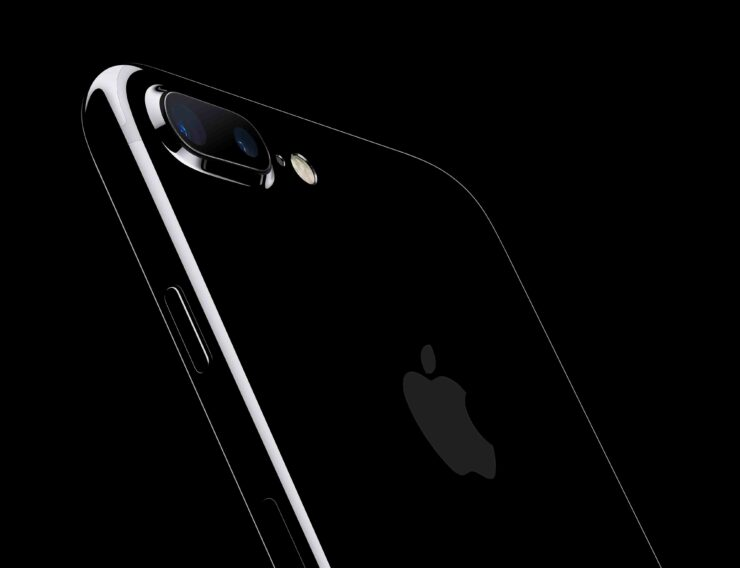 Matte black iPhone 7 into Jet Black video