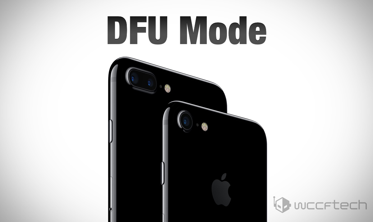 how to put on dfu mode