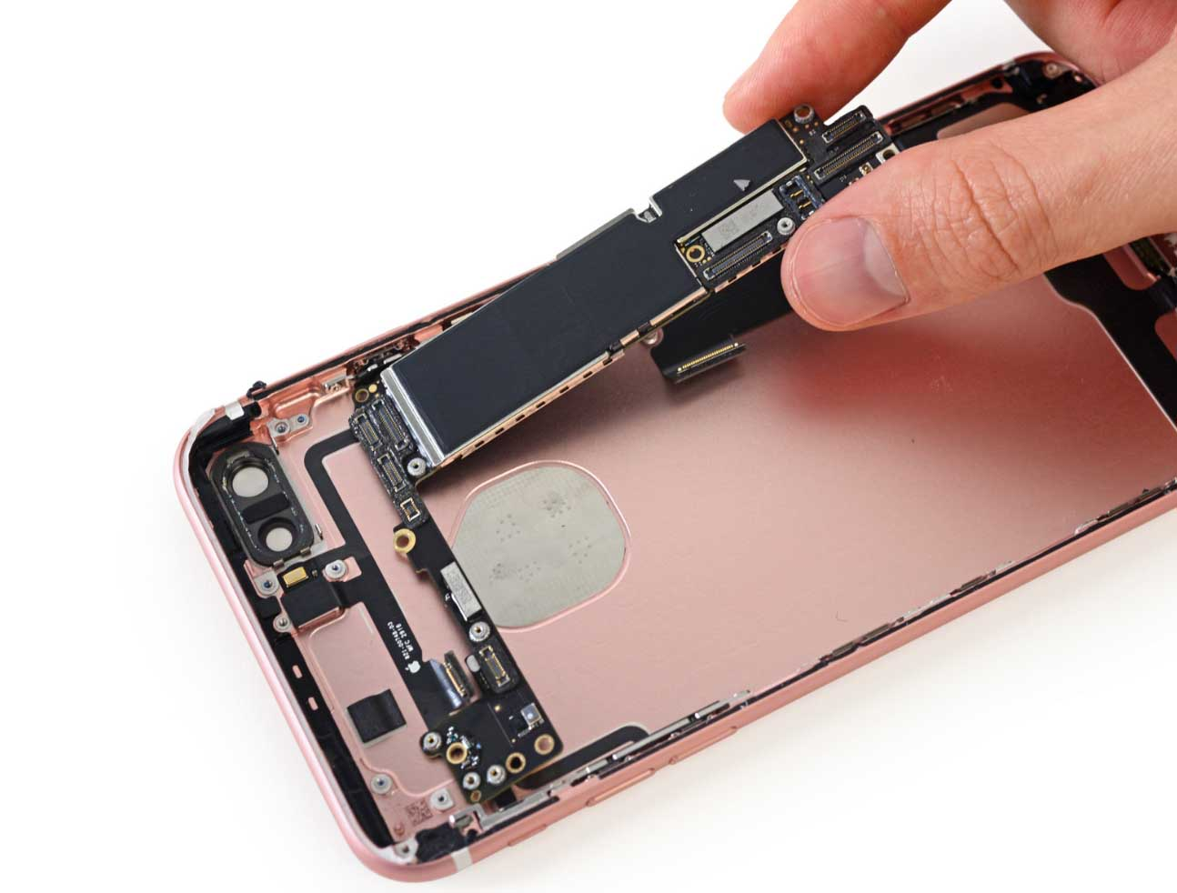 Ifixit Teardown Of Iphone 7 Plus Reveals The Larger