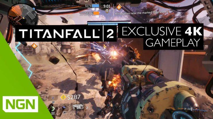 NVIDIA NGN Titanfall 2 4K 60FPS Titan X