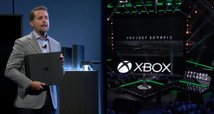 Sony Ceo Andrew House PS4 Pro Microsoft Xbox Scorpio