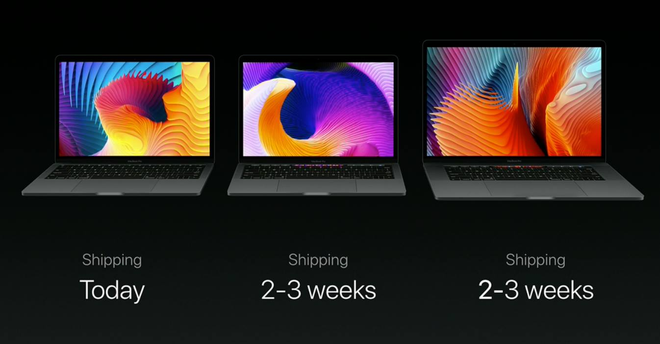 2016 MacBook Pro with function keys announced