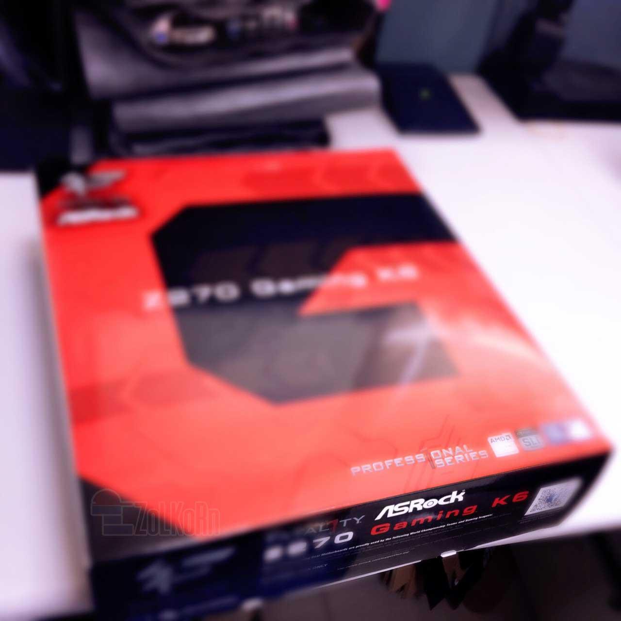 ASRock Z270 Gaming K6