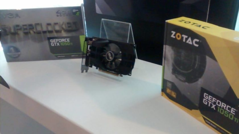 ASUS EVGA ZOTAC GeForce GTX 1050 Ti