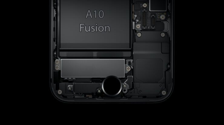 Apple A10 Fusion cores bigger than competition
