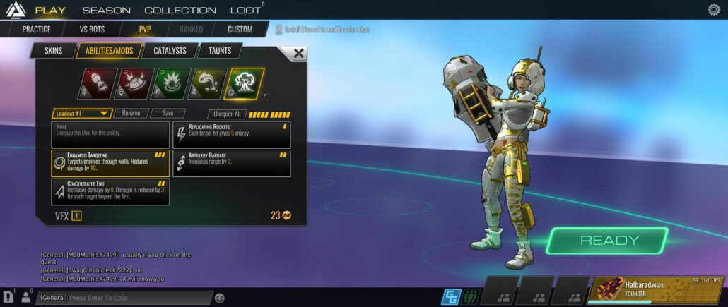 Atlas Reactor 02 - Loadout