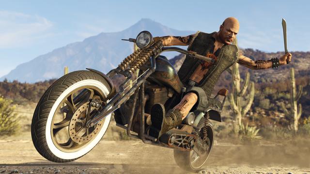 GTA Online Bikers DLC