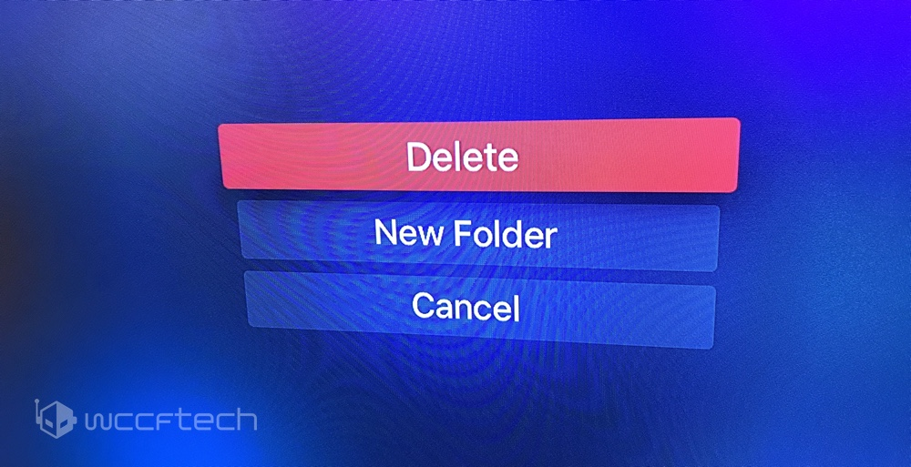 How do i uninstall and reinstall apps on apple tv