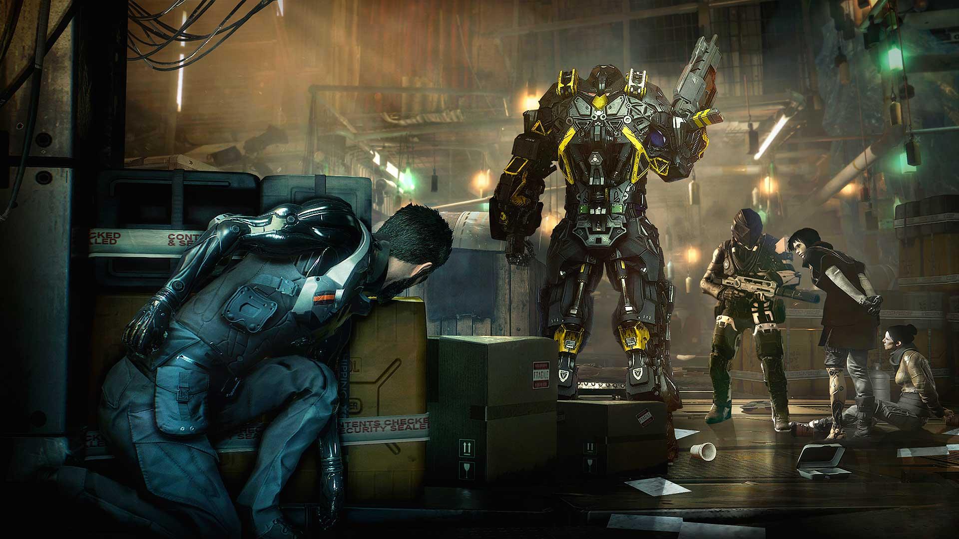 Deus Ex: Mankind Divided PC Patch Adds Multi-GPU DX12 Support