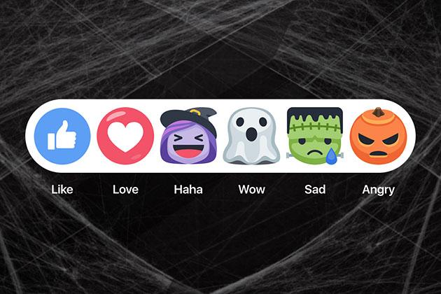 Facebook Halloween Emoji