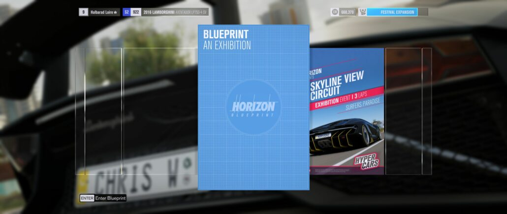 Forza Horizon 3 03 - Blueprint