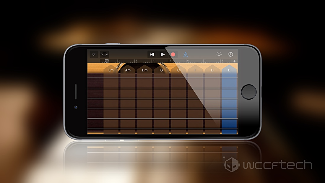 Add More Chords to Smart Guitar, Keyboard, Strings in GarageBand for iOS