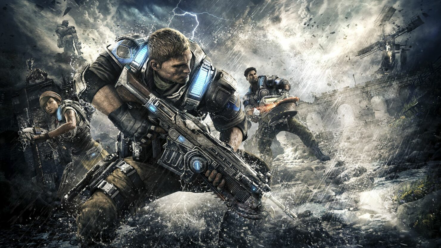 Gears Of War 4 update