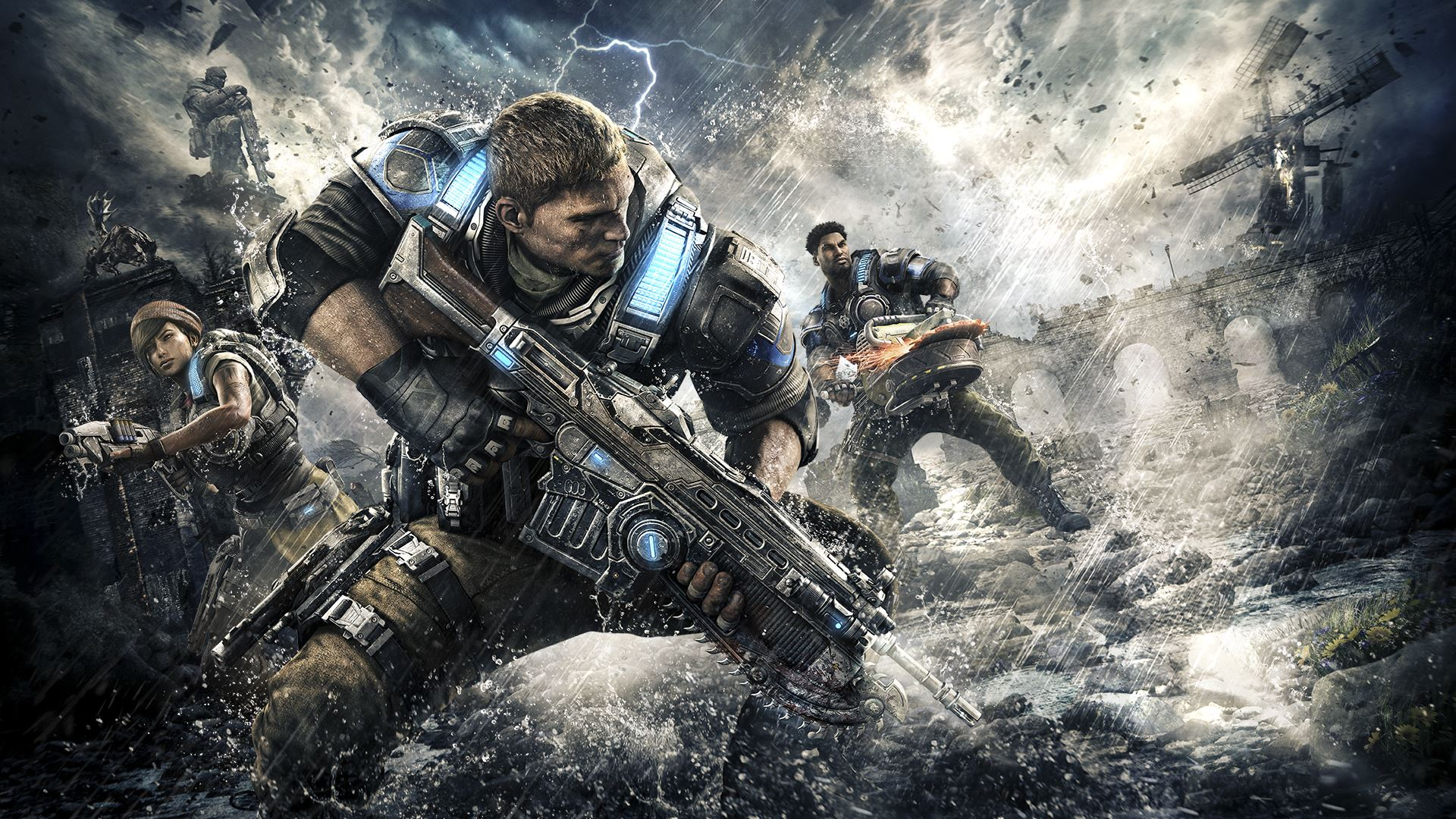 "gears of war 4 campaign is ""awesome"", ending is ""amazing""; total"