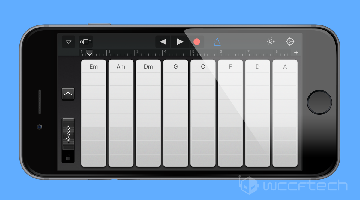 Add More Chords To Smart Guitar Keyboard Strings In Garageband For Ios