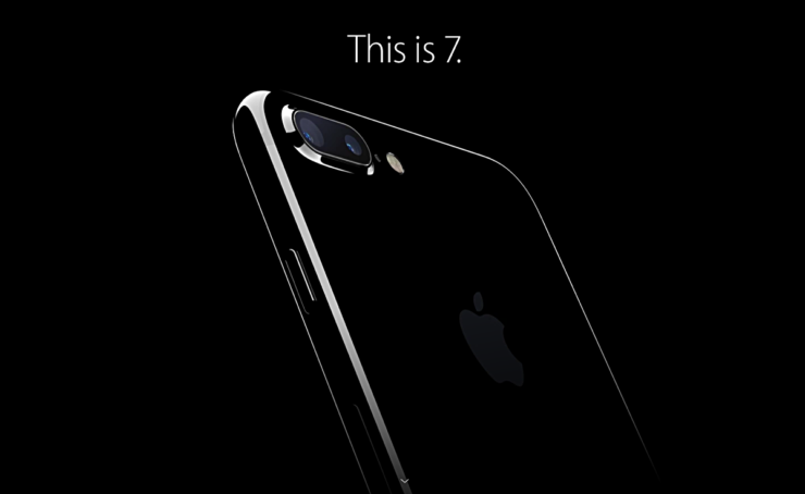 Jet Black iPhone 7 Plus