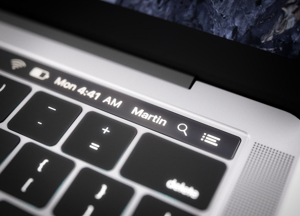 Apple Trademark Filing Reveals That OLED Display Strip Will Be Called Magic Toolbar