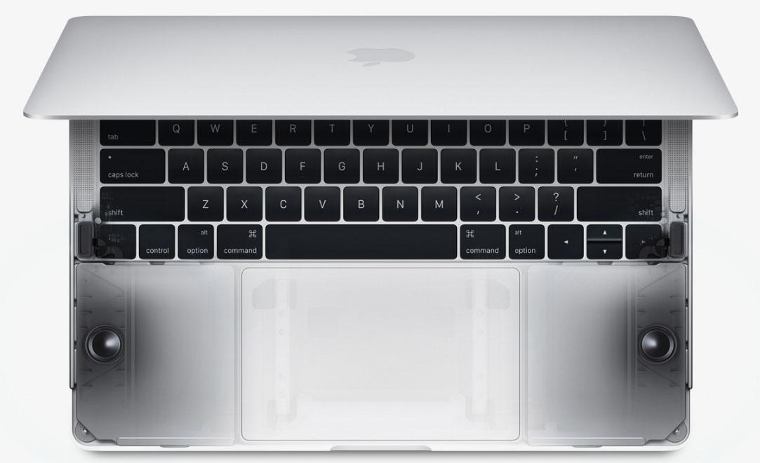 2016 MacBook Pro model spec differences