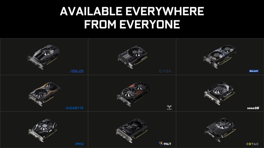 NVIDIA GeForce GTX 1050 Ti and GTX 1050 Official_Custom Models AIBs